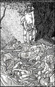 A Marca do Ego, quando o Criador percebeu que sua presença despertava o pior dentro do ser humano. Ele não foi recebido com louvor, mas com dor.